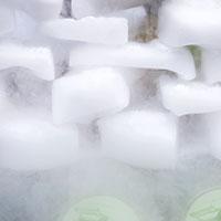 Blocks of dry ice