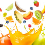 Fruit juice splash