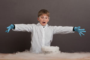 Fun dry ice experiments for kids