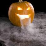 Halloween dry ice